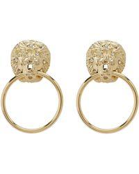 Kenneth Jay Lane - L5234egcp Earrings (gold) Earring - Lyst