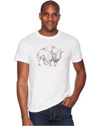 Mountain Khakis - Bison Illustration T-shirt - Lyst