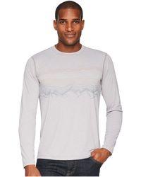 Prana - Calder L/s (titanium Grey) Men's Long Sleeve Pullover - Lyst