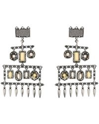 Kendra Scott - Emmylou Earrings - Lyst