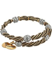 ALEX AND ANI - Relic Wrap Bracelet (rafaelian Gold/rafaelian Silver) Bracelet - Lyst