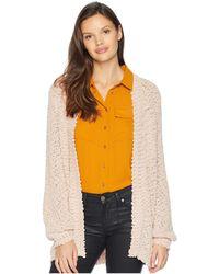 Volcom - Knitastic Cardigan (mushroom) Women's Sweater - Lyst