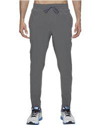 460896833b7b Lyst - Asics Run Woven Track Pants (performance Black) Men s Workout ...
