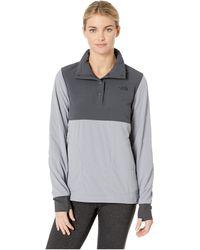 The North Face - Mountain Sweatshirt Pullover (asphalt Grey/mid Grey) Women's Sweatshirt - Lyst