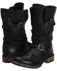 Steve Madden - Banddit Boot (black Leather) Women's Boots - Lyst