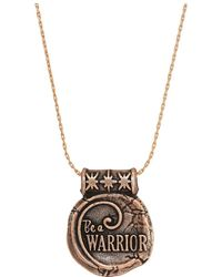 ALEX AND ANI - Wrinkle In Time - Be A Warrior Expandable Necklace - Lyst