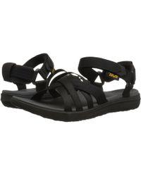 Teva - Sanborn Sandal (black) Women's Shoes - Lyst