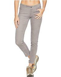 Mountain Khakis - Canyon Cord Skinny Pants Slim Fit (lunar) Women's Casual Pants - Lyst