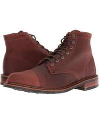 Wolverine - Garrett Waterproof (brown) Men's Boots - Lyst