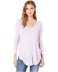 Free People - Catalina Thermal (sky) Women's Clothing - Lyst