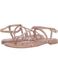 Kennel & Schmenger - Elle Strap Sandal (rosette Suede) Women's Sandals - Lyst