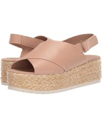 c570f59fa0 Vince - Jesson (off-white Memory Leather) Women's Wedge Shoes - Lyst