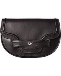 MICHAEL Michael Kors - 16 Mm (3/4) Bombe Belt Bag (black/nickel Smooth) Women's Belts - Lyst