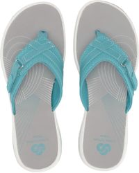 Clarks - Breeze Sea (rose Gold) Women's Sandals - Lyst