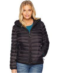 Tumi - Estes Pax Hooded Jacket (black) Women's Coat - Lyst