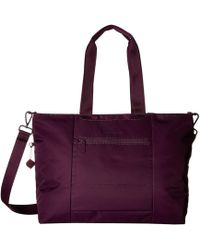 Hedgren - Swing Large Tote With Rfid (tango Red) Tote Handbags - Lyst