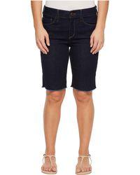 NYDJ - Petite Briella Shorts W/ Fray Hem In Rinse - Lyst