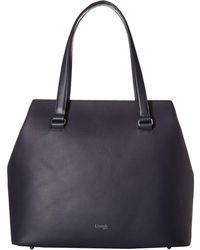 cb09f364139 Lipault - Plume Elegance Large Tote Bag (navy) Tote Handbags - Lyst