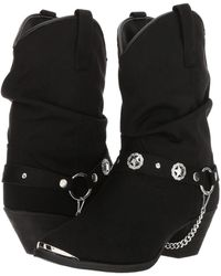 Dingo - Camilla (black) Cowboy Boots - Lyst