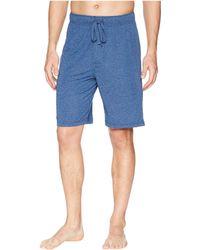 Jockey - 50 Rayon/50 Poly Knit Sleep Shorts (blue Tranquil/stone Blue) Men's Pajama - Lyst