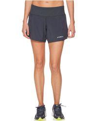 Brooks - Chaser 5 Shorts (navy Eclipse/navy) Women's Shorts - Lyst