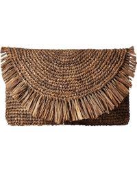 Hat Attack - Sunshine Clutch/crossbody (taupe) Clutch Handbags - Lyst