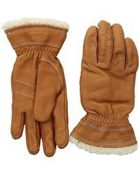 Hestra - Deerskin Primaloft (black) Ski Gloves - Lyst