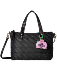 Tommy Bahama - Siesta Key Quilted Satchel (silver) Satchel Handbags - Lyst