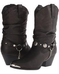 Dingo - Olivia (black) Cowboy Boots - Lyst
