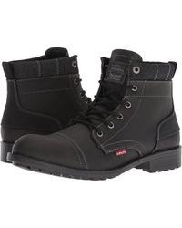 Levi's - Levi's(r) Shoes Artesia Ul (black) Men's Lace-up Boots - Lyst