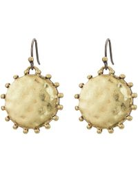 Lucky Brand - Medallion Drop Earrings - Lyst
