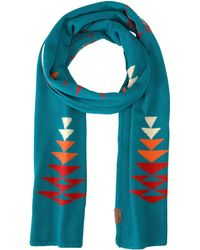 Pendleton - Knit Muffler (tucson Black) Scarves - Lyst