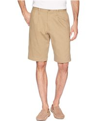 f53d40a760 Dockers - Classic Fit Double Pleat Short (porcelain Khaki) Men's Shorts -  Lyst