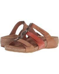 Taos Footwear - About Time (tan Multi) Women's Slide Shoes - Lyst