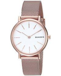 Skagen - Signatur - Skw2694 (rose Gold) Watches - Lyst