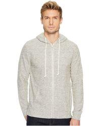 Threads For Thought - Loop Terry Zip Hoodie (marble) Men's Sweatshirt - Lyst
