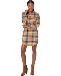 United By Blue - Moraine Flannel Dress (umber) Women's Dress - Lyst