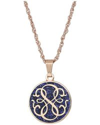 ALEX AND ANI - Color Infusion - Path Of Life 18 Adjustable Necklace (shiny Rose Gold) Necklace - Lyst