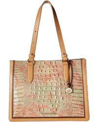 62922295d26e Brahmin - Amal Medium Camille Tote (sahara) Handbags - Lyst