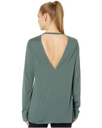 Reebok - Supremium Long Sleeve Tee (chalk Green) Women's Long Sleeve Pullover - Lyst