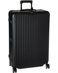 Rimowa - Salsa - 32 Multiwheel(r) With Electronic Tag (matte Blue) Luggage - Lyst