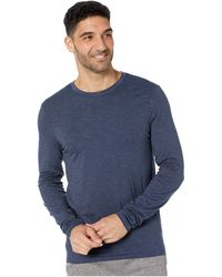 Toad&Co Tempo Long Sleeve Crew - Blue
