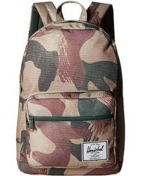 f9016456af4 Herschel Supply Co. - Pop Quiz (black black) Backpack Bags - Lyst