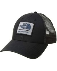 The North Face - Patches Trucker Hat (vintage White crystal Teal Multi) Caps c3020e11d0d