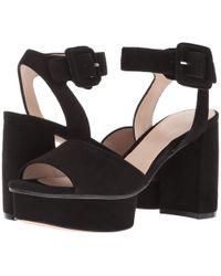 Stuart Weitzman - Newdeal (black Suede) Women's Shoes - Lyst
