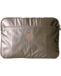 Kipling - Laptop Sleeve 15 Metallic - Lyst
