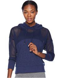 Lorna Jane - Match Point Active Hoodie (ink Marl) Women's Sweatshirt - Lyst