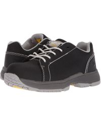 Dr. Martens - Alsea Composite Toe Sd 5-eye Shoe (dark Gull Grey) Women's Lace Up Casual Shoes - Lyst