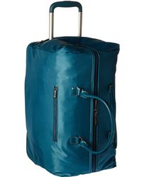 Lipault - Lady Plume Wheeled Weekend Bag (purple) Weekender/overnight Luggage - Lyst