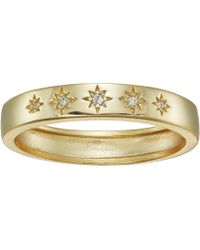 Shashi - Twinkle Ring (yellow Gold) Ring - Lyst